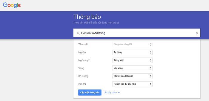 google alert influencer marketing