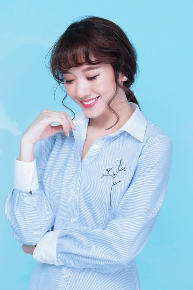 Hari Won hiện đang là nghệ sĩ khá đắc show diễn, cô được chú ý bởi mối tình siêu ngọt với MC Trấn Thành - Tin sao Viet - Tin tuc sao Viet - Scandal sao Viet - Tin tuc cua Sao - Tin cua Sao