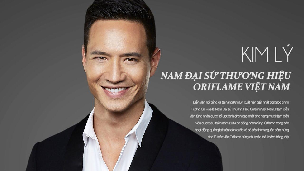 Kim Lý - Nam đại sứ thương hiệu Oriflame Việt Nam