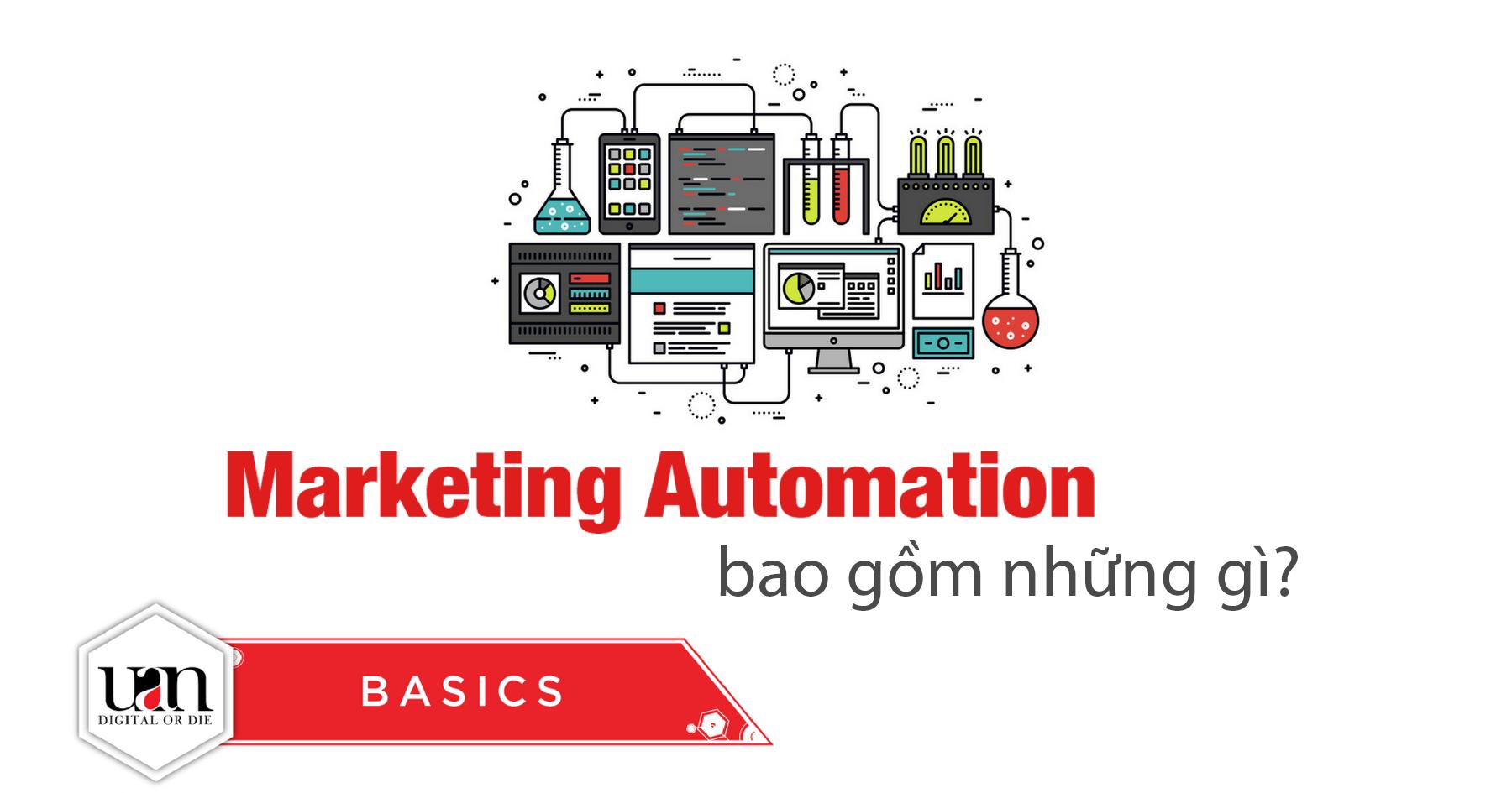 Marketing Automation bao gồm những gì?