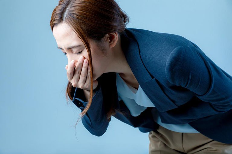 Buồn nôn là một dấu hiệu của bệnh hội chứngsợlỗ tròn