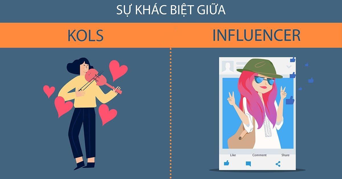 Làm cách nào để phân biệt giữa Kols và Influencer?